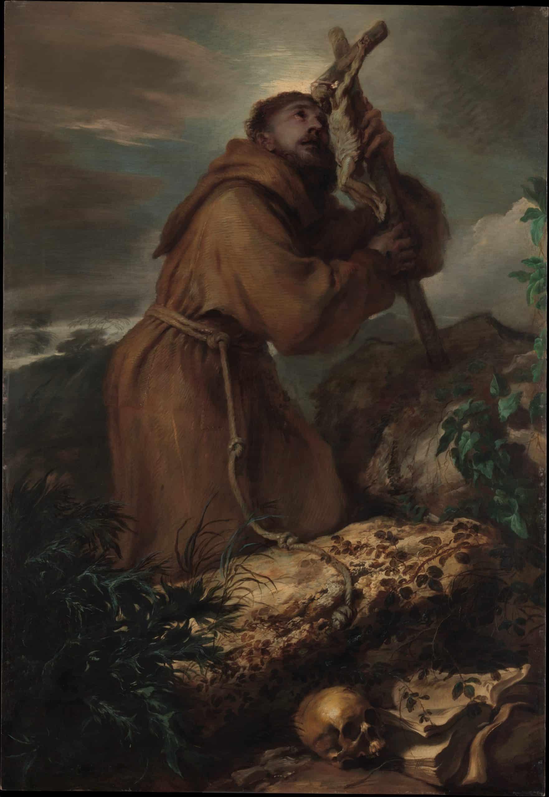 Saint Francis in Ecstasy